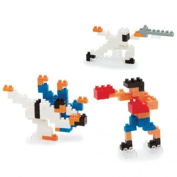 Nanoblock: Martial Arts