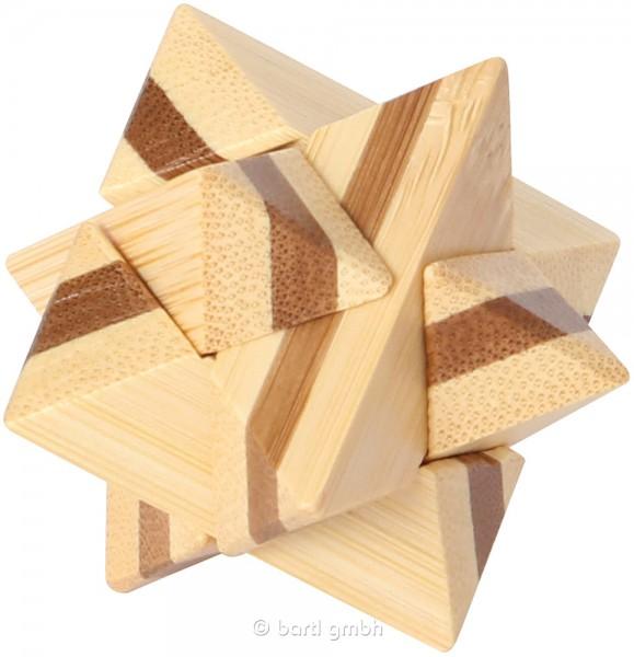 """Kleines Bambus Puzzle """"Superstar"""""""
