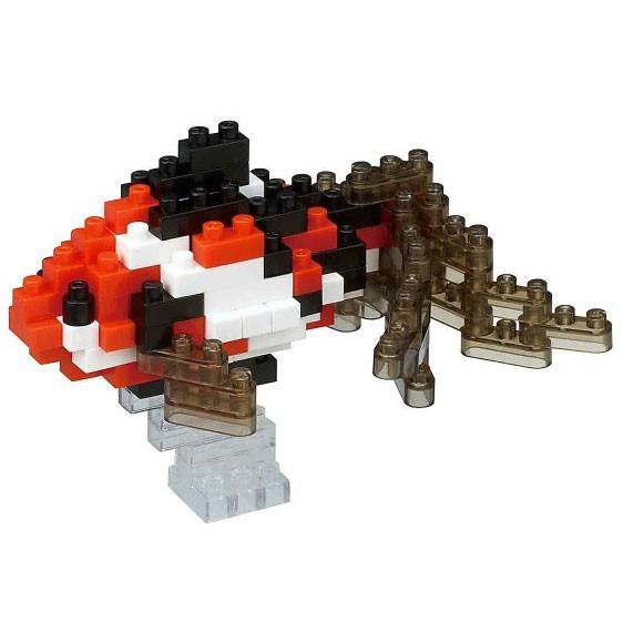 Nanoblock: Wakin Goldfish schwarz