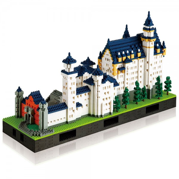 Nanoblock: Schloss Neuschwanstein Deluxe Edition