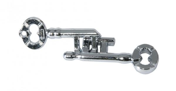 """Metallpuzzle """"Zwei Schlüssel"""""""
