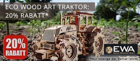 Eco Wood Art Traktor