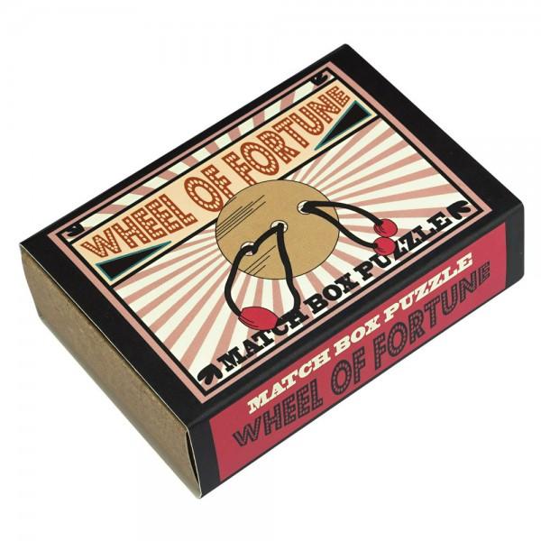 Matchbox Puzzle Das Glücksrad