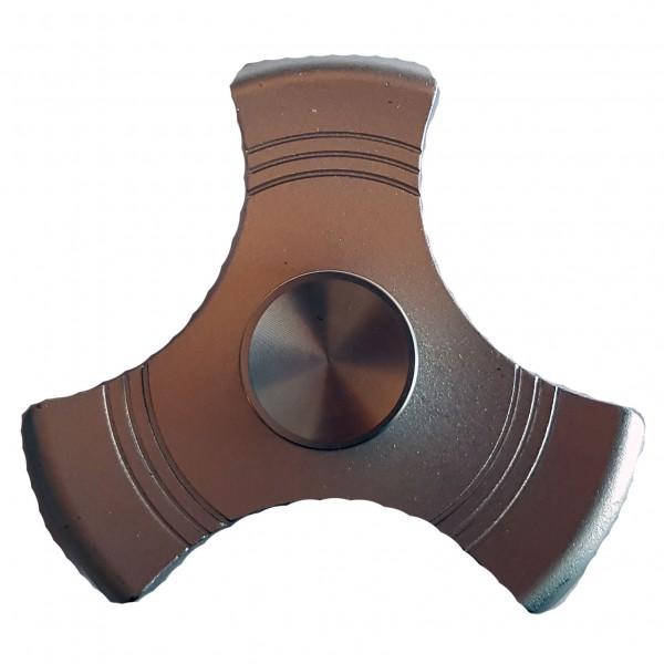 """Metall Fidget Spinner """"Dreieck"""" Silber"""