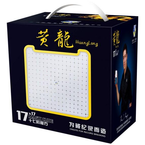 YuXin Huanglong 17x17x17 Stickerless Magic Cube