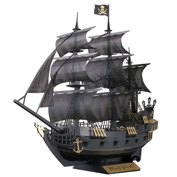 Papernano: Schwarzes Piratenschiff