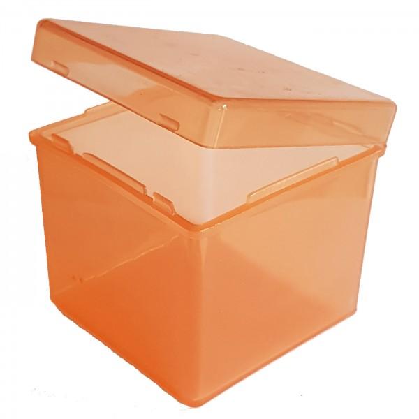 Schutzbox für 57mm-Cubes Orange