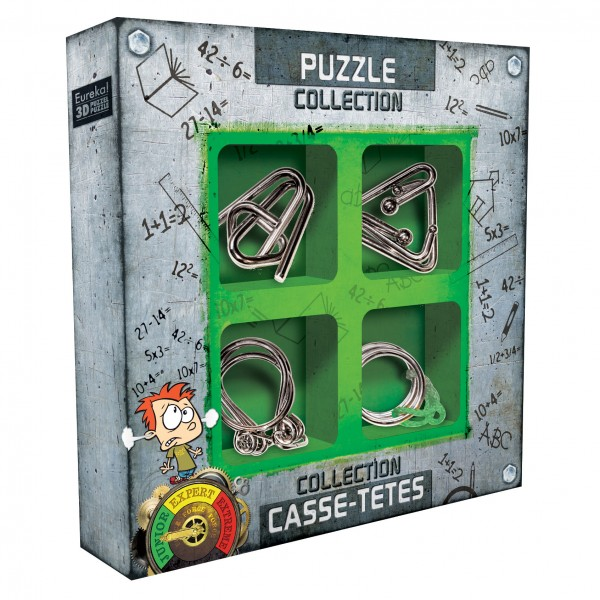 Junior Metal Puzzles Collection
