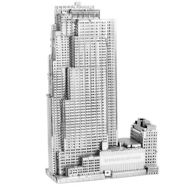 Metal Earth: 30 Rockefeller Plaza