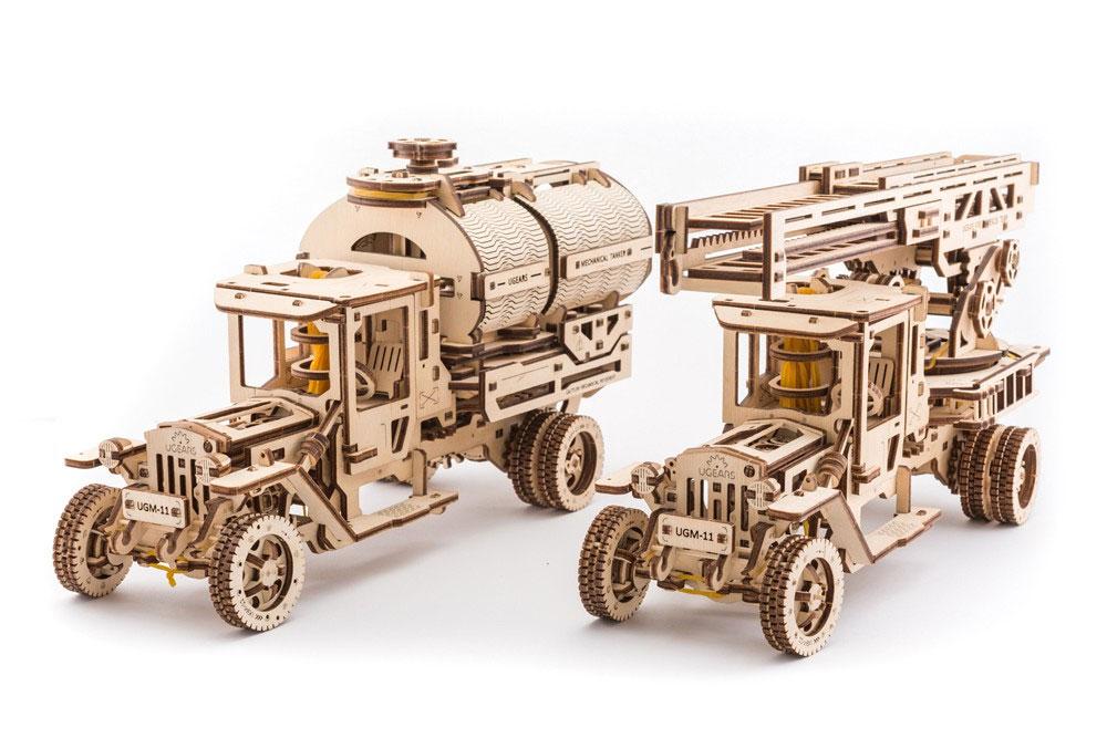 Ugears Mechanical Models: Fahrzeug