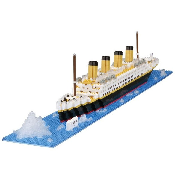 Nanoblock: Titanic