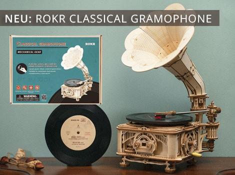 Rokr Classic Gramophone