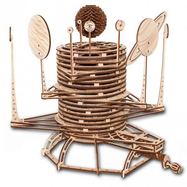 Eco Wood Art: Planetarium