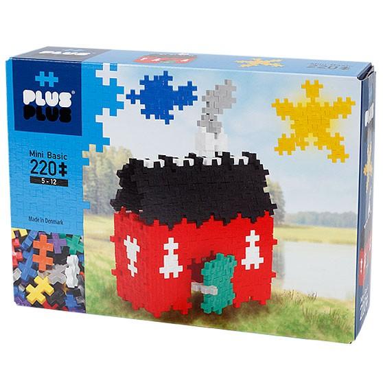 Plus-Plus Mini Basic: Haus - 220 Bausteine