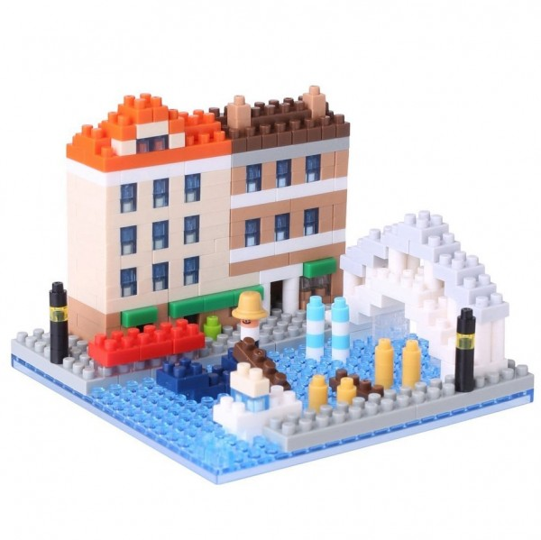Nanoblock: Capital Venezia Dell Acqua
