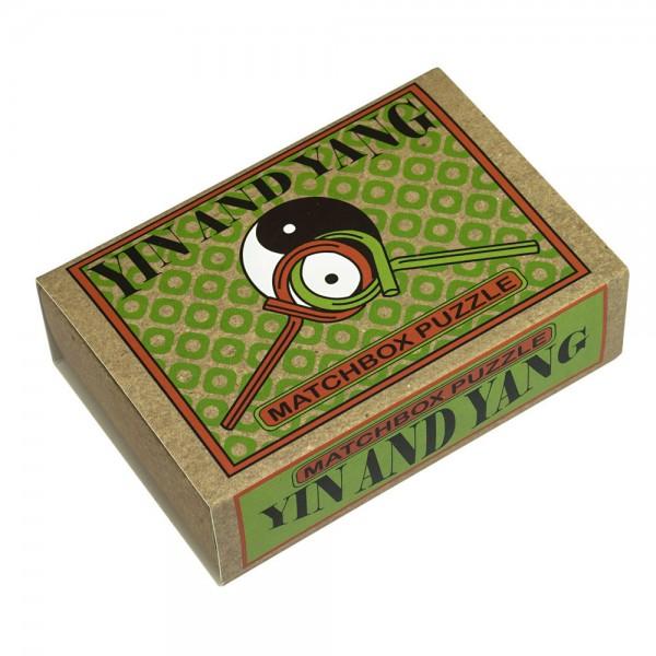 Matchbox Puzzle Yin and Yang