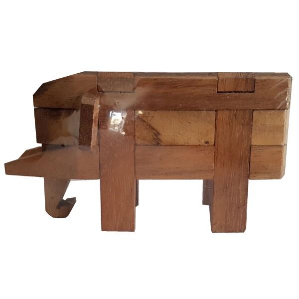 Elephant Kumiki Puzzle