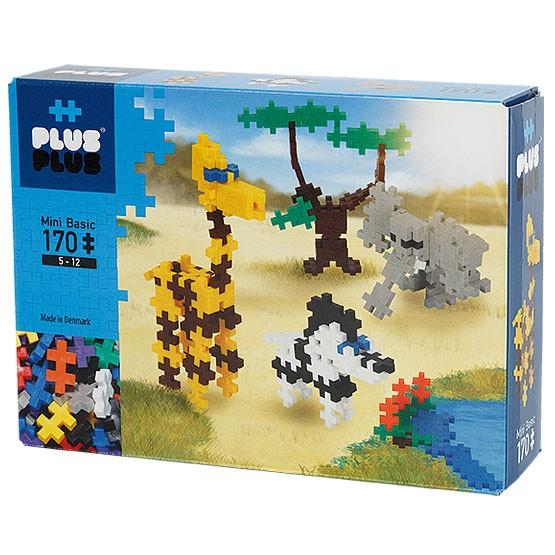 Plus-Plus Mini Basic: African Animals - 170 Bausteine