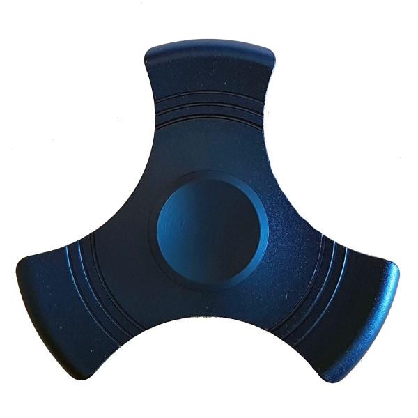 """Metall Fidget Spinner """"Dreieck"""" Blau"""