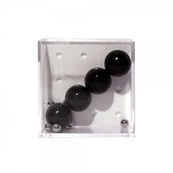 """Geduldspiel """"4 schwarze Bälle"""""""
