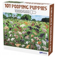 101 Pooping Puppies Puzzle
