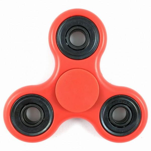 Fidget Spinner Basic Rot