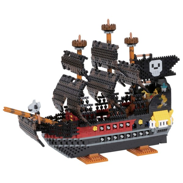Nanoblock: Pirate ship Deluxe Edition