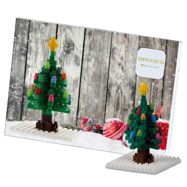 Brixies Postkarte Weihnachtsbaum