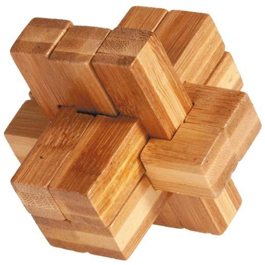 "Bambuspuzzle ""Multi-Kreuz"""