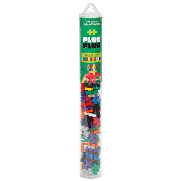 Plus-Plus Tube Mini Basic Mix - 100 Bausteine