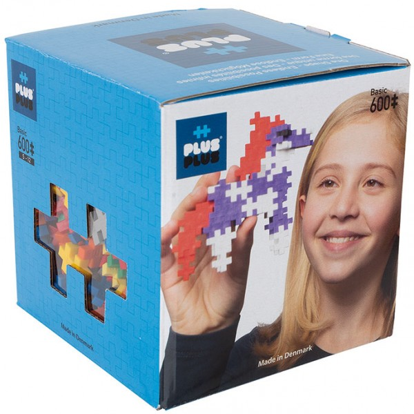 Plus-Plus Mini Basic: 600 Bausteine