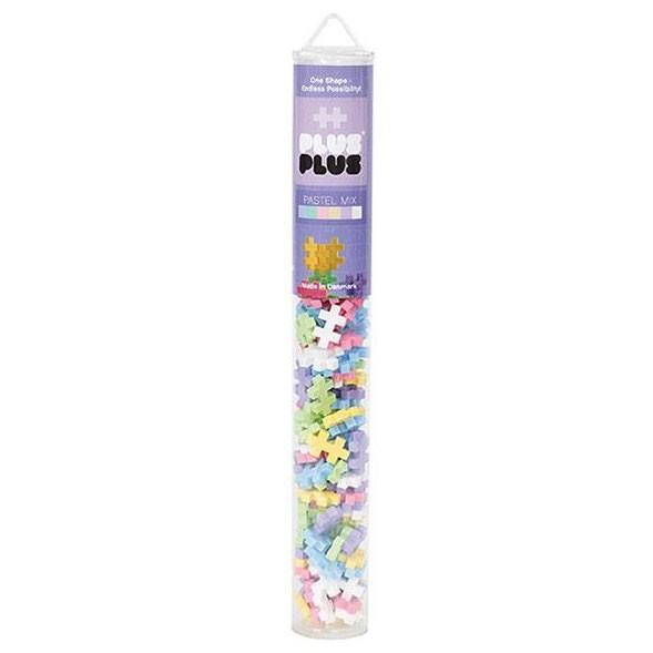 Plus-Plus Tube Mini Pastel Mix - 100 Bausteine