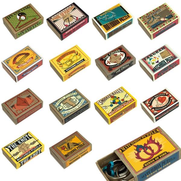 Matchbox Puzzle Sparpaket