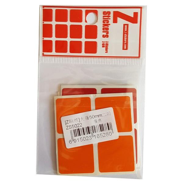 Z-Stickers für DaYan 2x2x2 50mm