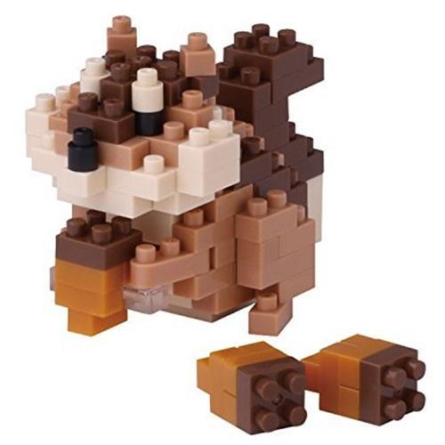 Nanoblock: Eichhörnchen