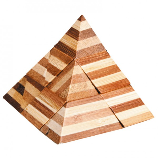 "Bambuspuzzle ""Pyramide"""