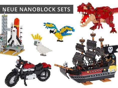 Nanoblock Neuheiten