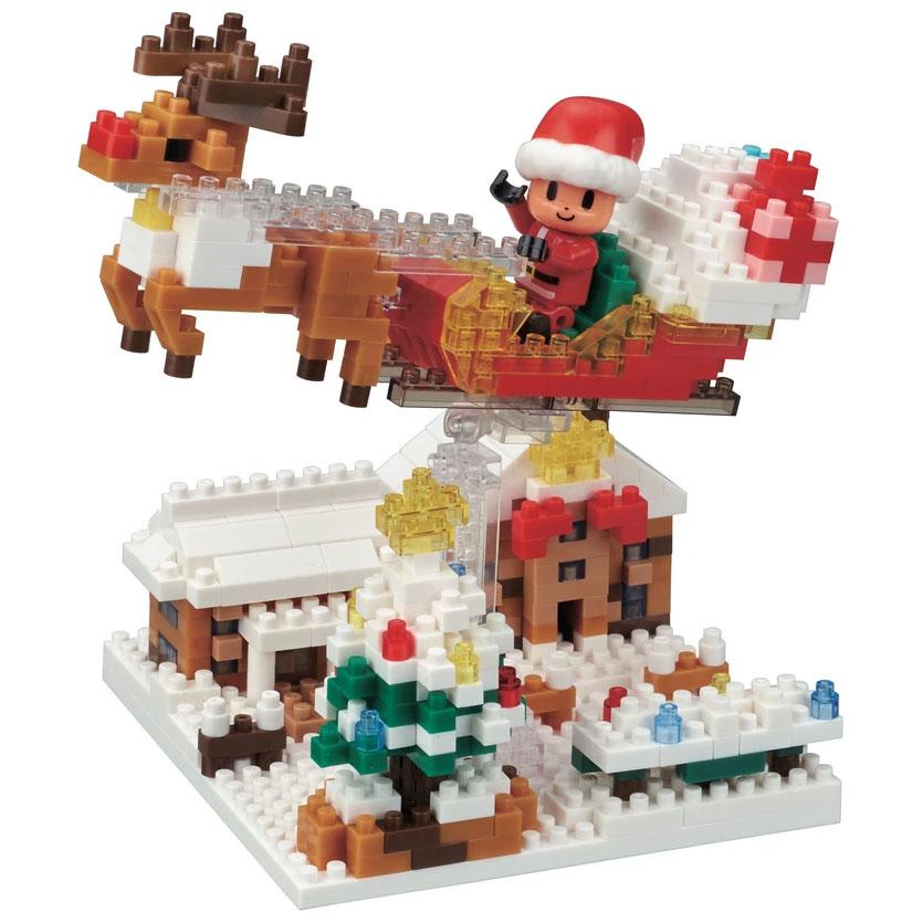 Weihnachtshaus Nanoblock