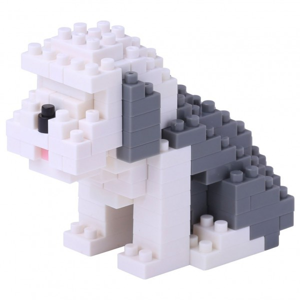 Nanoblock: English Sheepdog