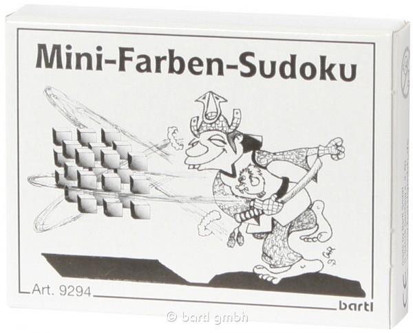 Mini-Farben-Sudoku