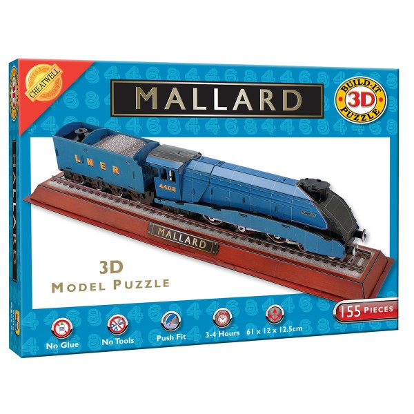 Cheatwell Build-It 3D: The Mallard