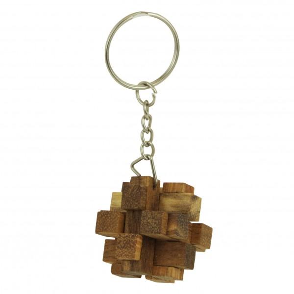Schlüsselanhänger 3D square Cube