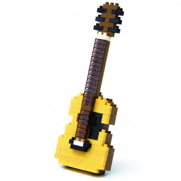 Nanoblock: Akustische Gitarre