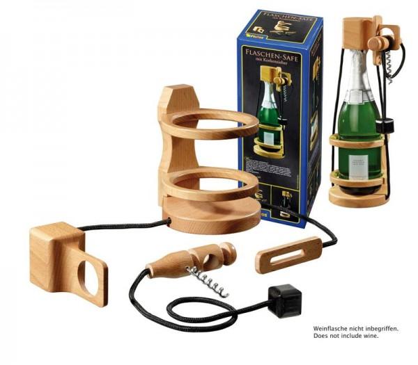 flaschen safe mit korkenzieher philos 5521. Black Bedroom Furniture Sets. Home Design Ideas