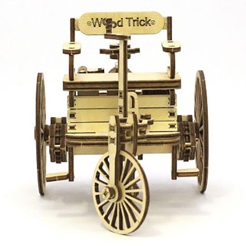 wood trick first car erstes auto ebay. Black Bedroom Furniture Sets. Home Design Ideas