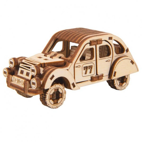 Wooden City Superfast: Rally Car 2 (Economy Car)