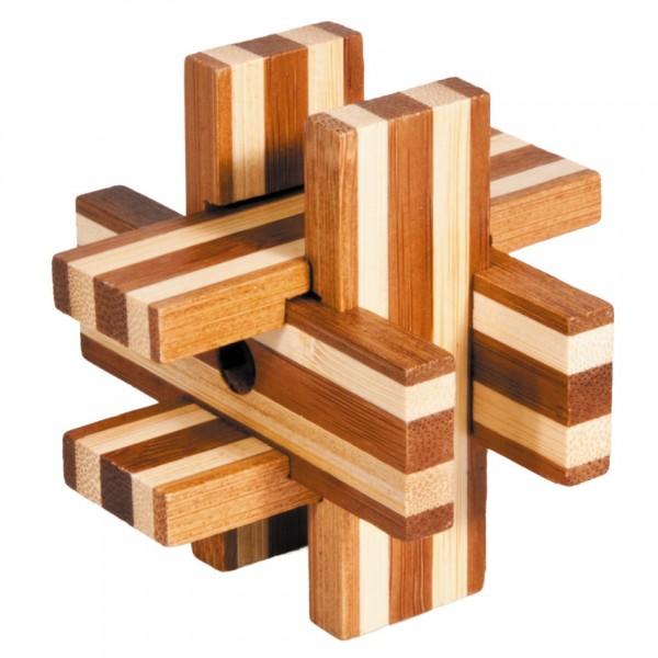"Bambuspuzzle ""Bretterkreuz"""