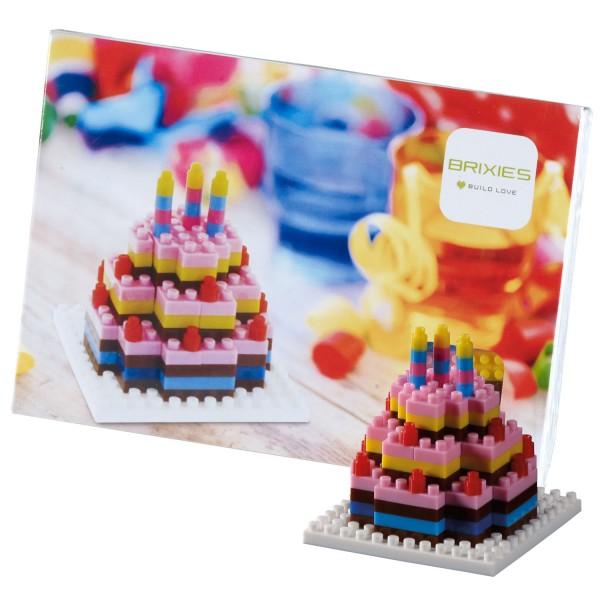 Brixies Postkarte Geburtstagskuchen