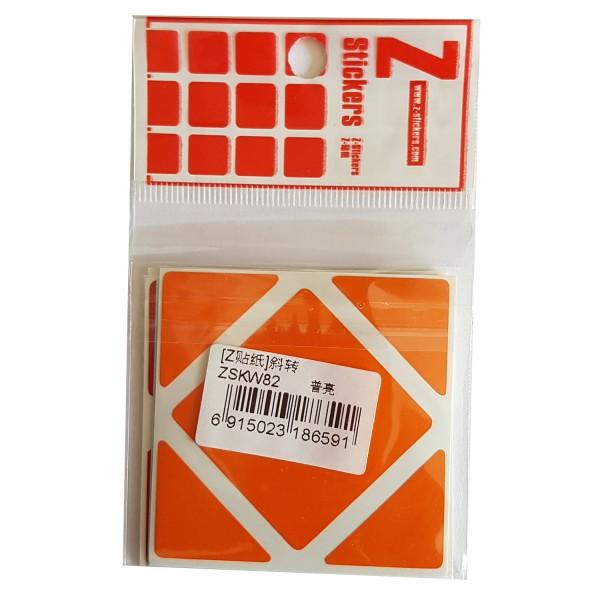 Z-Stickers für Skewb Cube