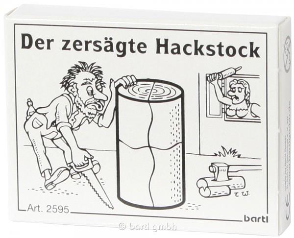 Der zersägte Hackstock